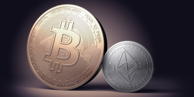 Bitcoin and Etherem virtual currencies