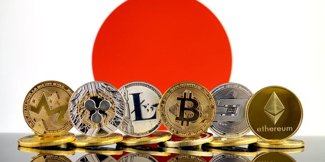 cryptocurrencies in Giappone