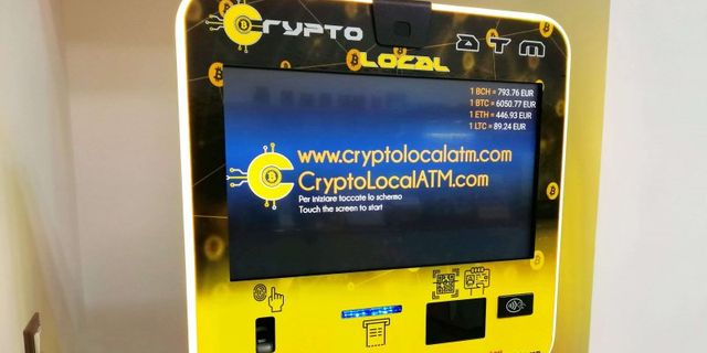 ATM di cryptocurrencies