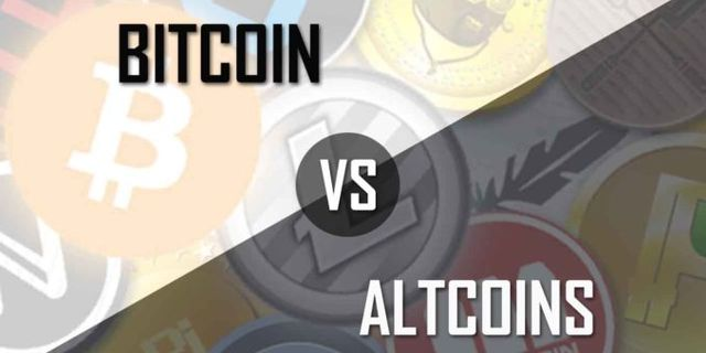 Bitcoin vs Altcoin