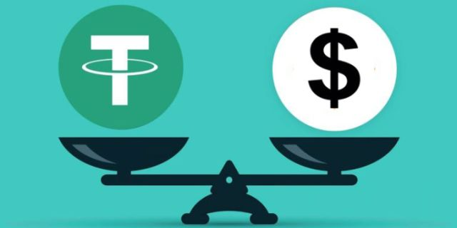 Tether stablecoin virtual currency