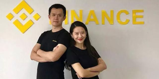 Binance - Changpeng Zhao ed He Yi