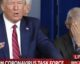 Donald Trump e Anthony Fauci - conferenza stampa sul COVID-19